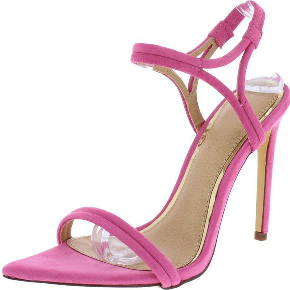 PLEASE READ DESC - RRFF Doll Shoes 55mm SLIM Light Purple Plain Ankle Strap